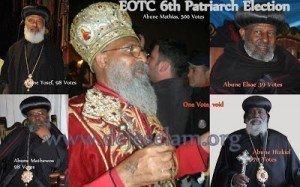 Abune Mathias 6th  Patriarch Deje selam