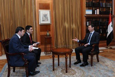 Syrian president slams Arab League for granting seat to opposition