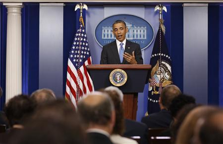 Obama signals won't rush to act against Syria over chemical arms