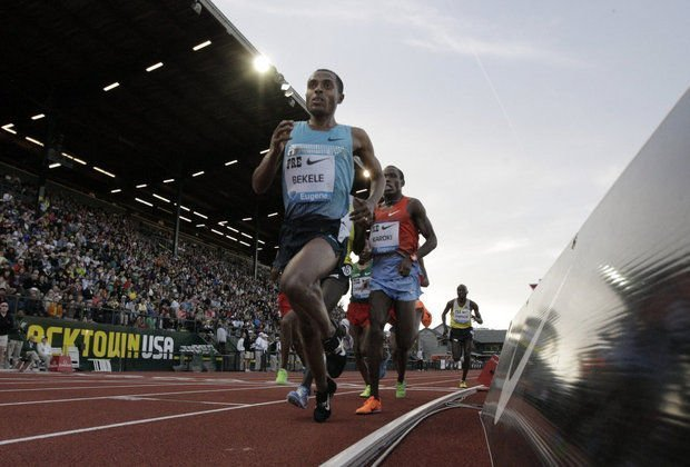 Kenenisa Bekele: The Oregonian