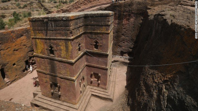 Rock churches of Lalibela, the Jerusalem of Ethiopia