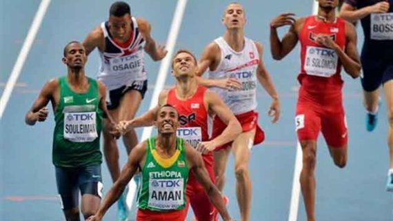 Ethiopia : Mohammed Aman Secured 800m Birmingham Indoor Grand Prix title