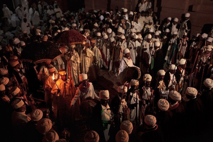 Orthodox Christmas in Lalibela