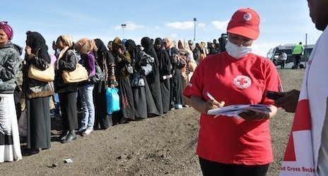 Source IFRC- Thousands more people are expected to return to Ethiopia in coming weeks. Berhanu Gezahegn/Ethiopia Red Cross Society