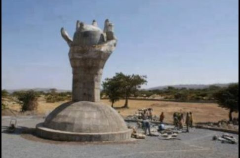 Statue for hate and ethnic tension?
