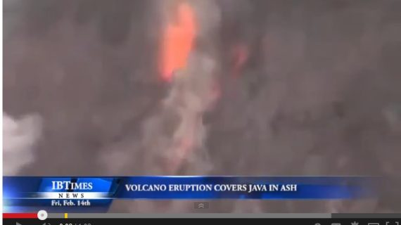 Java Volcano Eruption