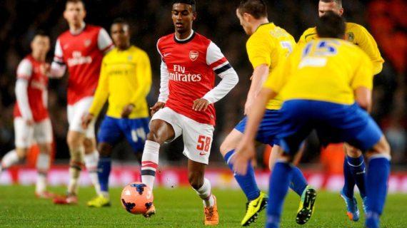 Gedion Zelalem a German born Ethiopian Midfielder