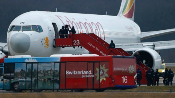 The true story about the Ethiopian Airlines Co Pilot who hijacked the airplane to Geneva