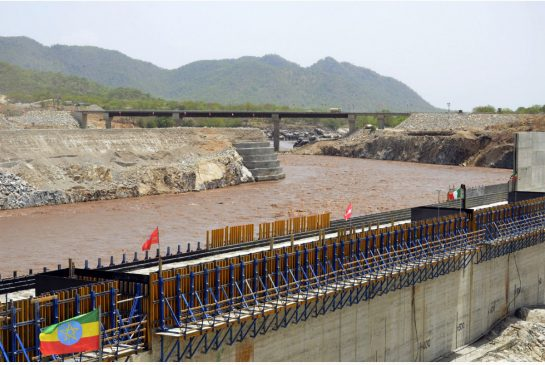 WILLIAM LLOYD-GEORGE / AFP/GETTY IMAGES/FILE PHOTO Ethiopia has begun diverting the Blue Nile as part of a giant dam project that is creating tension with Egypt.