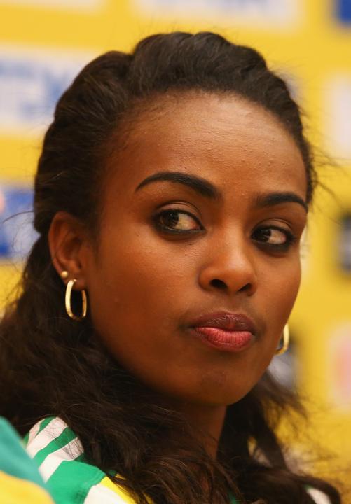 Genzebe Dibaba /IAAF
