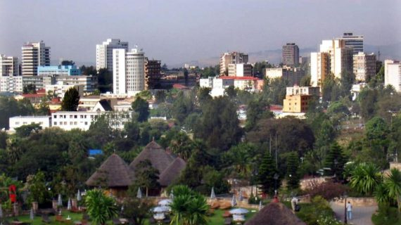Meskel Square , Addis Abeba