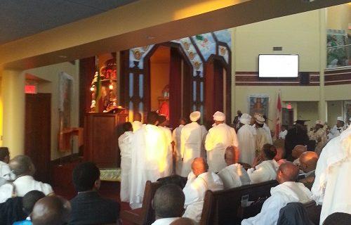 Ethiopia: Fasika (Easter) celebration in Toronto