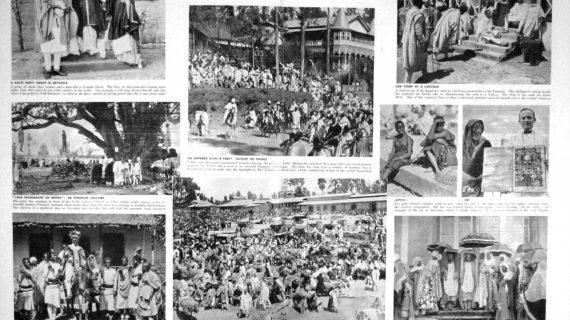 Addis Ababa,Ethiopia: Religious celebration in 1937