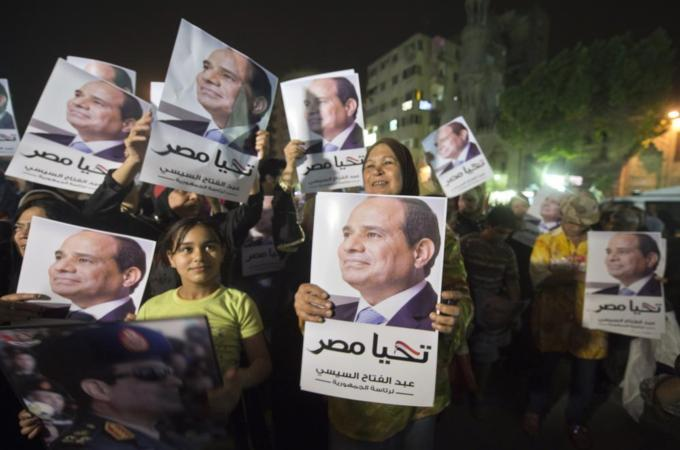 Egypt's presidential elections are taking place on May 26-27 [AFP]