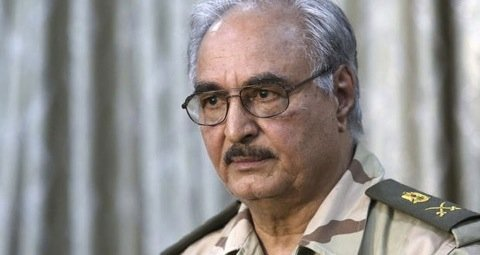General Khalifa Hifter accuses the interim government for being soft on extremism and terrorism. Photo©Reuters