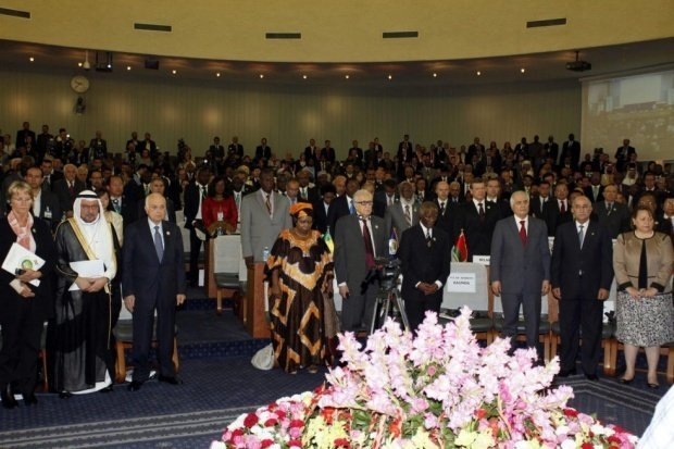 The African Union's Non Aligned Movement 17th Ministerial Conference (AA) - See more at: http://www.middleeasteye.net/news/african-union-unfreezes-egypts-membership/45960845#sthash.ldrxAd43.dpuf
