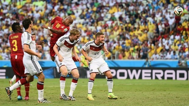 Germany Versus Ghana game. Photo credit : CBC