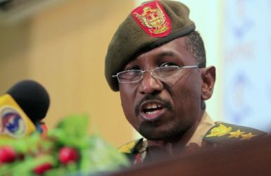 The spokesperson for the Sudanese Armed Forces (SAF), al-Sawarmi Khalid Sa'ad (Photo: Reuters)