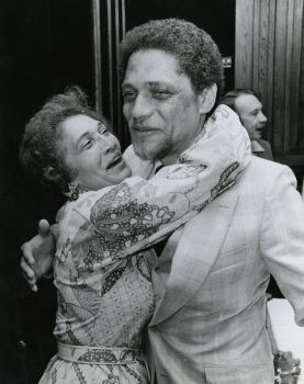 Photo By Houston Chronicle file photo  A jubilant Mickey Leland hugs his mother Alice Raines after a victory in the 1978 18th Congressional District runoff. Mickey Leland, a Democratic congressman from Texas 18th District, died Aug. 7, 1989 at age 44 when a plane he was on crashed during a mission trip in Fugnido, Ethiopia.
