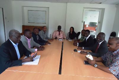 The SRF leadership council in a meeting held in Paris from 20 to 25 July 2014 and chaired chaired by its leader Malik Agar (Photo courtesy of SRF)  Source - Sudan Tribune