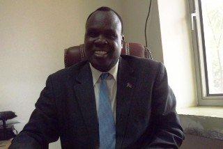 South Sudan foreign affairs spokesperson Mawien Makol (Photo credit: citizen-news)