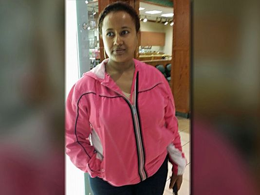 Source  WFAA Almaz Gebremedhin disappeared after leaving her home in Wylie on October 2, 2014.(Photo: Family photo)