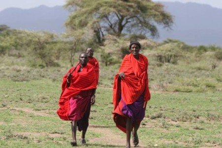 Masai people  Source: www.salon.com