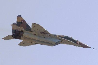 Sudanese Air Force MiG-29  Photo: Wikipedia via Sudan Tribune