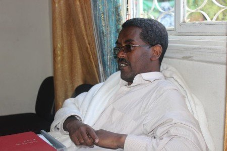Yilkal Getnet, Chairman of Semayawi party after his release from detention  Source - Negere Ethiopia
