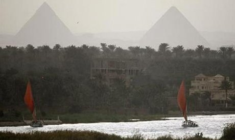 Boats sail on the river Nile in Cairo (Photo: Reuters)