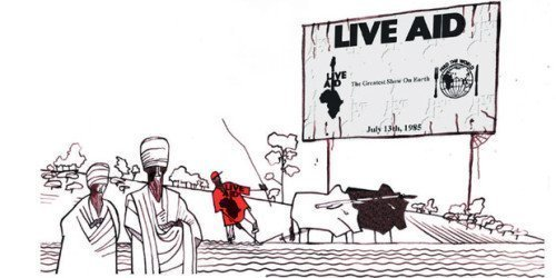 The reality of Ethiopia is far removed from what many in the West imagine. Illustration / NZ Herald