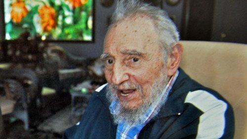 Cuban former president Fidel Castro (AFP Photo)