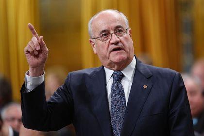 Veterans Affairs Minister Julian Fantino. (REUTERS) (via Toronto Sun)