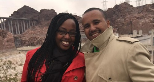 Jawar and his partner  Source ethiomy