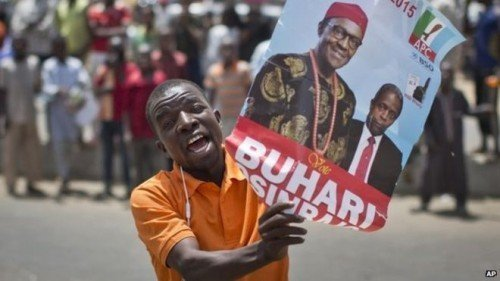 Opposition candidate Muhammadu Buhari has won Nigeria's two biggest states, Lagos and Kano /BBC