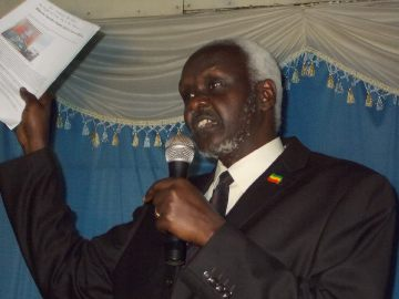 EUPF leader Thowath Pal Chay (File Photo) -Source Sudan Tribune
