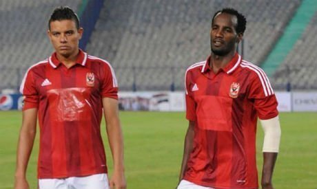 Ahly and Ethiopia striker Saladin Said (R) (Photo: the player's official Facebook page)