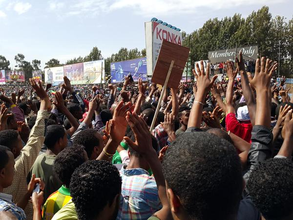 Ethiopia : Police attack peaceful demonstrators in Addis Ababa