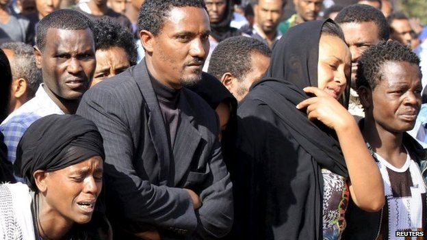 There were three days of natioinal mourning for the Ethiopians killed in Libya in April.