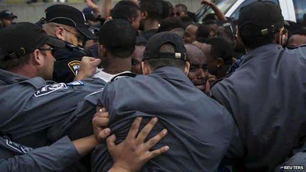 Ethiopian Jews have complained of police brutality in Israel