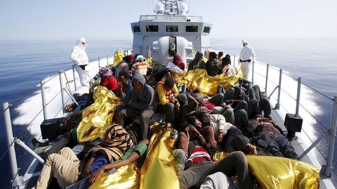 Record 4,200 migrants rescued at sea by Italian coastguard, 17 dead