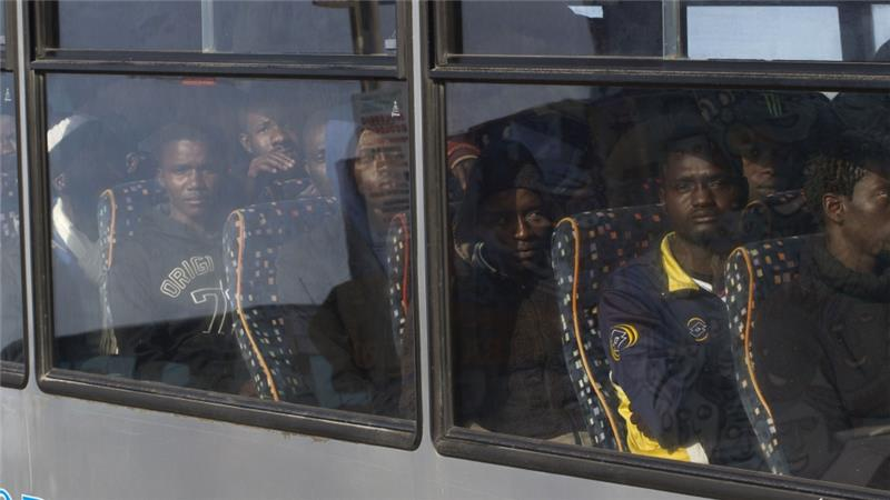 All of those rescued by Italian authorities were taken to the island of Lampedusa [AP]
