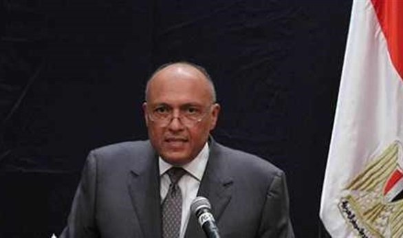 Egypt Foreign Minister. Source - El-balad