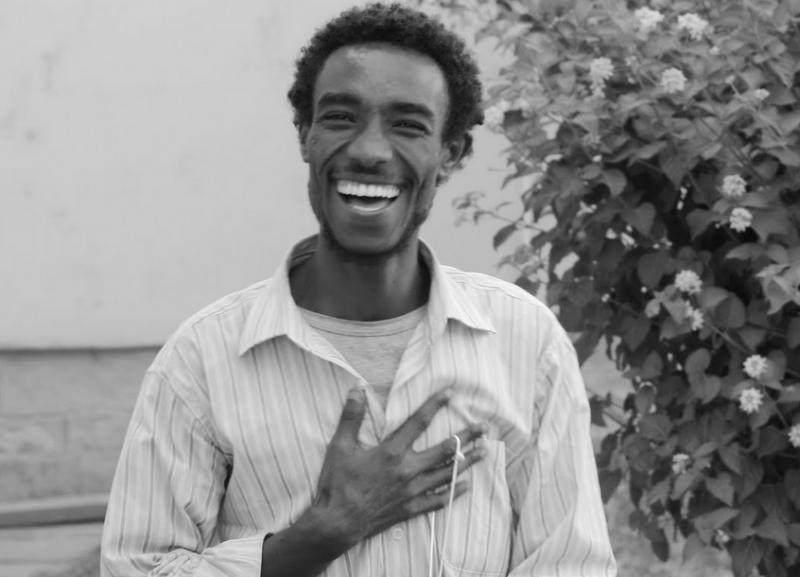Zelalem Kiberet at 25. Photo from Zelalem's blog.