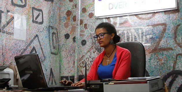 Colour Zone Advertising & Printing is one of the companies that felt the market demand pull toward the business of website development and joined the business five years ago. /Addis Fortune