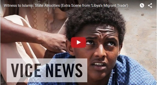 Eye Witness to Islamic State atrocities against Ethiopians and Eritreans in Libya