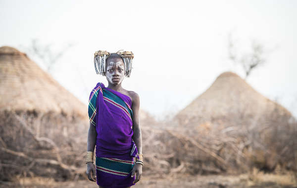 The UK government has tried to suppress evidence of gross human rights violations in Ethiopia's Lower Omo Valley, such as the forced resettlement of the Bodi and other tribes. © Nicola Bailey/ Survival, 2015