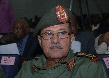 Former chief of staff of the Sudanese army and current interior minister Esmat Abdel-Rahman (SUNA)  Source :Sudan Tribune