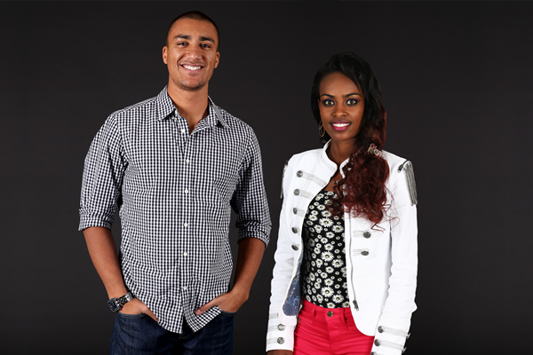 Ashton Eaton and  Genzebe Dibaba Source : IAAF