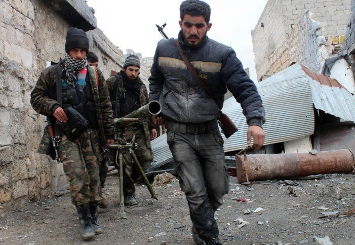 Nearly 300 rebels start evacuating last stronghold in Syria's Homs city